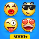 5000+ Emoji New - 3D Animated Emoticons Icon