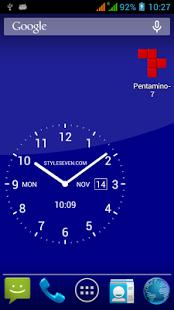 Analog Clock Live Wallpaper-7 - Zift App Advisor