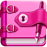 Diary with lock Icon