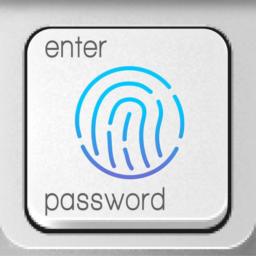 Fingerprint Login: PassKey Password Lock Hide Apps Icon