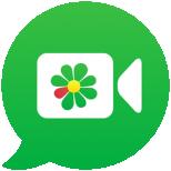 icq video calls & chat Icon