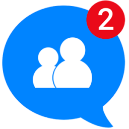 Messages, Text and Video Chat for Free Icon