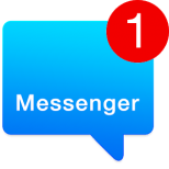 Messenger for SMS Icon