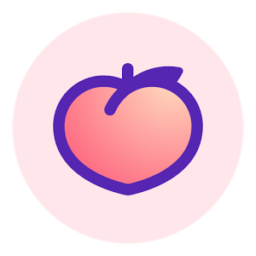 Peach — share vividly Icon