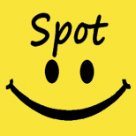 Spot Smile, brighten your day Icon