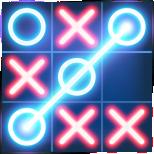 Tic Tac Toe Glow Icon