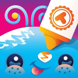 Toonia Colorbook - Educational Coloring Game for Kids & Toddlers Icon